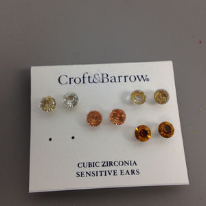 Croft & Barrow Cubic Zirconia Earrings